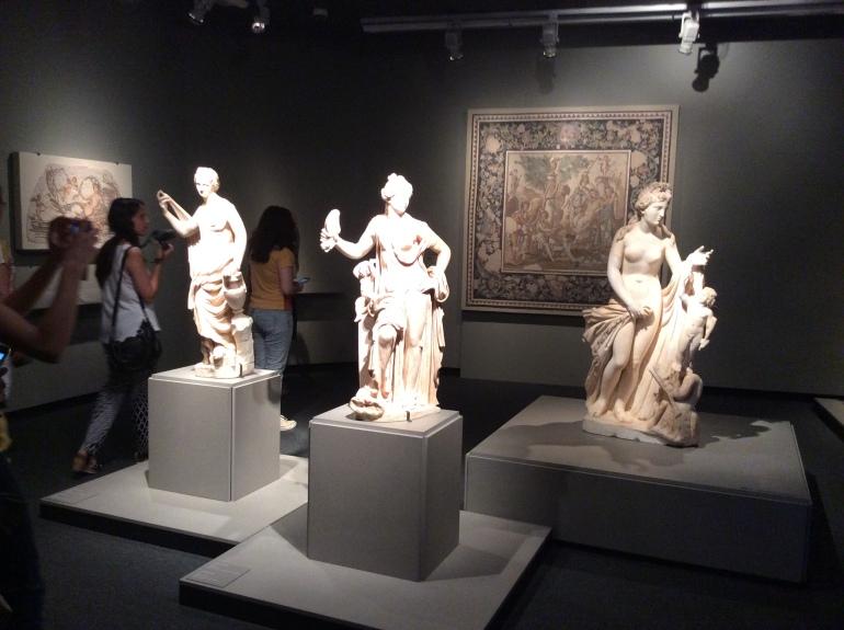 El juicio de Paris- Mujeres de Roma