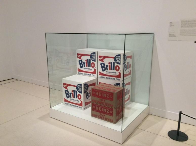 Andy Warhol-Cinco Cajas Brillo y Dos Cajas Heinz